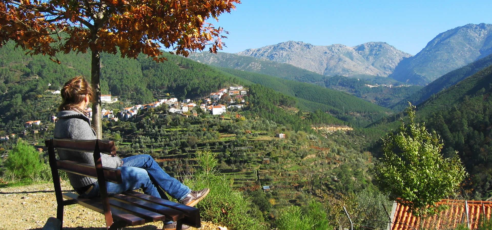 Ausblick auf die portugisischen Berge