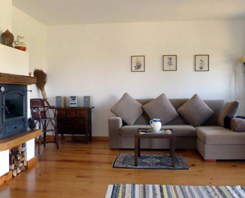 Wohnzimmer im Ferienhaus Portugal